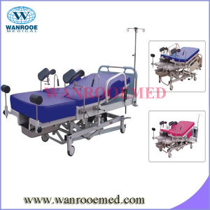 Comfortable with Height Adjustment Linak Motor Electric Delivery Bed pictures & photos