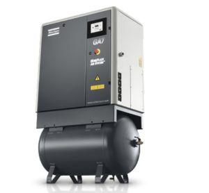 Atlas Copco Oil Injected Screw Air Compressor (GA5FF GA7FF GA11FF) pictures & photos