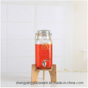 Free Sample Large Size Glass Jar, Wine Storage, Airtight Glass Lid, Portable Jar, Wine Bottle pictures & photos
