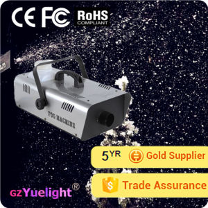 Yuelight 600W/1500W Party Wedding Stage Equipment Snow Machine pictures & photos