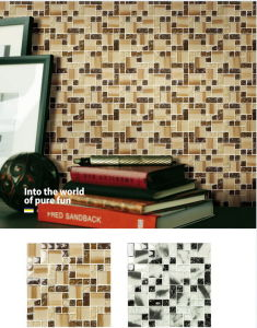 Building Material Wall and Floor Glass Mosaic Ma-GS2018 pictures & photos
