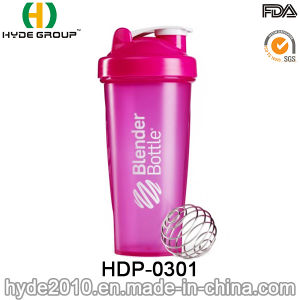 600ml Wholesale BPA Free Plastic PP Protein Shaker Bottle (HDP-0301) pictures & photos