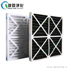 Foldaway Paper Frame Filter, Air Filter with Cardboard pictures & photos