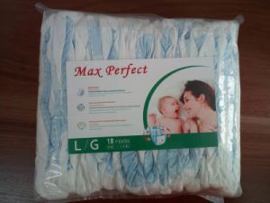 Soft and Breathable Diapers with Transparent Packaging (L) pictures & photos