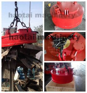 Steel Magnetic Lifter Heavy Duty Crane Hoist Lifting Magnet pictures & photos