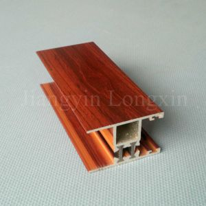 Wooden Print Aluminium Frame for Sliding Windows pictures & photos