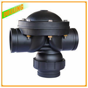 Nylon Material Water Control Backwash Automatic 4′′ 2 Way Diaphragm Valve pictures & photos