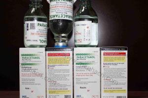 Paracetamol Infusion 1g/100ml, Paracetamol Infusion 500mg/50ml, Paracetamol Infusion in Glass Bottle, Paracetamol in Plastic Bag pictures & photos
