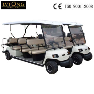 Wholesale 4 Wheels Electric Sightseeing Car for 11 People pictures & photos