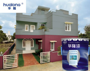 Hualong Environmental High-Grade Exterior Wall Paint pictures & photos
