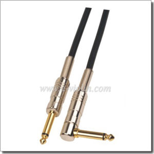 6.0mm Outer Diameter Coaxial Guitar Cable (AL-G008) pictures & photos