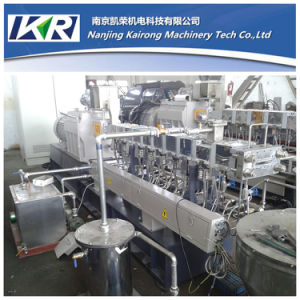 PE CaCO3 Plastic Color Filler Masterbatch Production Pelletizing Line pictures & photos
