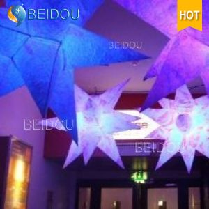 LED Event Stage Wedding Party Decoration Jellyfish Lighted Inflatable Star