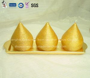 Golden Triangle Taper Candles for Sale pictures & photos