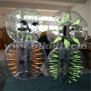 Excellent Glowing TPU Bubble Ball Suits, Bubble Zorb for Football D5001 pictures & photos