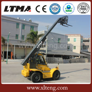 Ltma 2.5t Telescopic Boom Forklift Truck with Cummins Engine pictures & photos