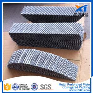 Metal Perforated Plate Corrugated Packing Tower Packing pictures & photos