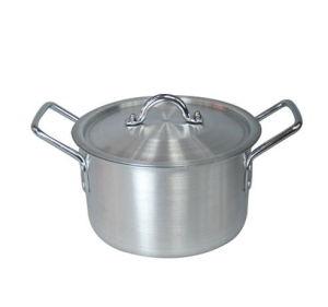 Aluminum Satin Finished Cooking Pot