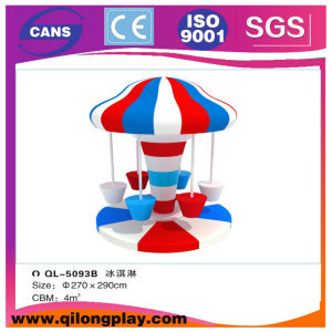 Ice Cream Electric Revolving Chair for Kids (QL-A102-2) pictures & photos