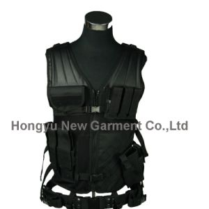 Army Military Combat Soft Tactical Police Safety Camping Vest (HY-V040) pictures & photos