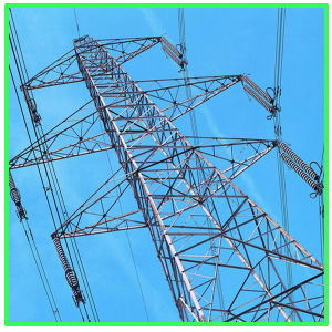 500kv Electric Power Transmission Steeltower Pole Tower