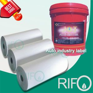 Grease Proof Label Synthetic Paper for Auto Industry RoHS MSDS pictures & photos