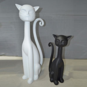 Lifelike Fiberglass Cat Mannequin for Shop Decoration pictures & photos
