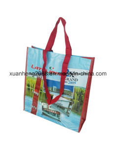 Full Printing Big Size Laminated PP Woven Shopping Bag pictures & photos