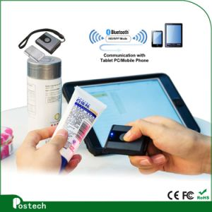 Low Price 1d CCD Wireless Bluetooth Handheld Barcode Scanner pictures & photos
