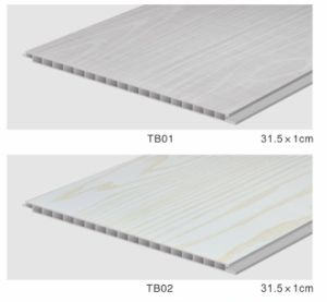 300mm PVC Wall Panelsurface Wrapped Color Foil pictures & photos