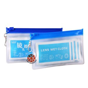 Lens Cleaning Wet Cloth Wipes pictures & photos
