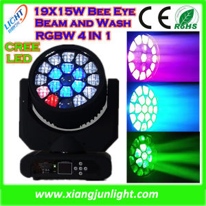 Xiangjun 19X15W LED Bee Eyes Moving Head DJ Lights pictures & photos