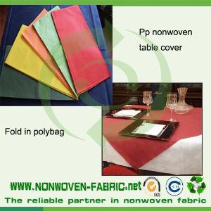 Pre-Cuted Disposable Non-Woven Table Cloth pictures & photos