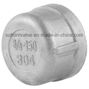Investment Casting Stainless Steel Screwed Round Cap pictures & photos