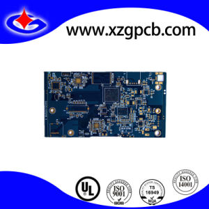 4layers Blue Mask PCB Board with 0.25mm BGA pictures & photos