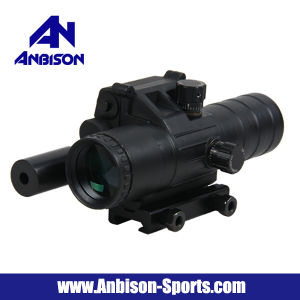 Tactical Airsoft 3.5X32 Rifle Scope with Red Laser pictures & photos