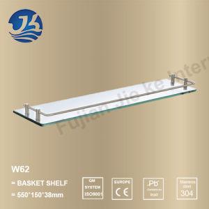 Corner Stainless Steel Bathroom Accessories Net/ Storage Rack Shelf (W62)