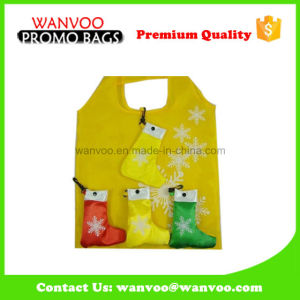 Christmas Stockings Polyester Folding Gift Bag pictures & photos