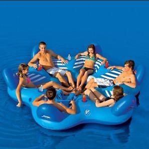 Inflatable Floating Home Gym Equipment for Water Park (B064) pictures & photos
