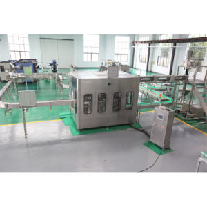 Full Automatic Water Filling/Labeling/Packing Machine pictures & photos