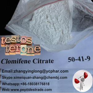 Antiestrogen Steroids Clomifene Citrate with Competitive Price pictures & photos