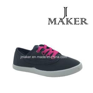 Comfortable Woman Shoe with Canvas Upper (JM2007-L) pictures & photos