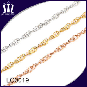 Wholesale Bulk Stainless Steel Wave Jewelry Chain pictures & photos