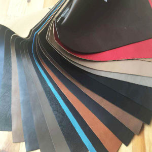 Embossed PVC Artificial Leather Use for Car Seat Leather, Bus Seat Fabric Usage pictures & photos