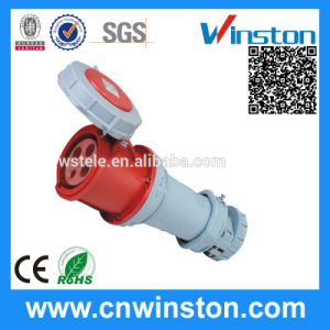 Wst1241 4p 63A 400V Industrial Connector with CE, RoHS Approval pictures & photos