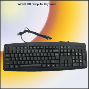 Free Sample Normal Desktop Computer Keyboard (KB-1805) pictures & photos
