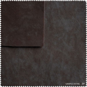 Flocking and Imitation PU Leather for Shoe (s155) pictures & photos