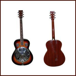 "41"" Single-Cone Resonator Guitar in Sunburst"