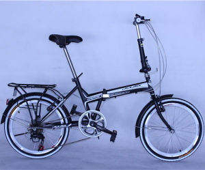 New Design 20inch Alloy 8 Speed Folding Bike pictures & photos