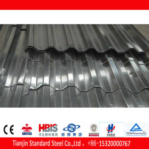 400G/M2 1.0mm Dx 51d Galvanized Steel Corrugated Sheet pictures & photos
